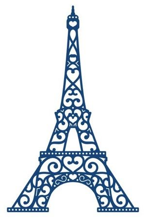 Tattered Lace Dies - Eiffel Tower