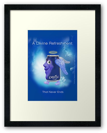 """A Divine Refreshment That Never Ends"" Original Concept & Design by Alice Iordache by VanyssaGraphics"