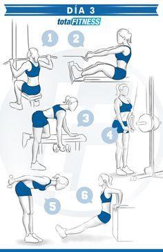 Plan de entrenamiento de 5 días para chicas