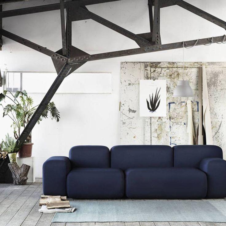 Die besten 25+ Marine couch Ideen auf Pinterest blaue Sofas - wohnzimmer blau gold