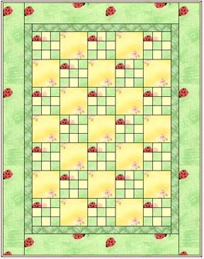 Gives different block sizes great instructions. Easy Nine Patch Quilt Pattern