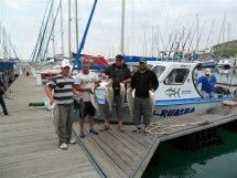 Ska-Rumba Fishing Charters - Langebaan. The best deep-sea and lagoon fishing adventure on the West Coast. Fully equipped boat; friendly, safety-first skippers. All tackle and equipment supplied. An experience not to be missed, for novice and experienced fishermen/women.