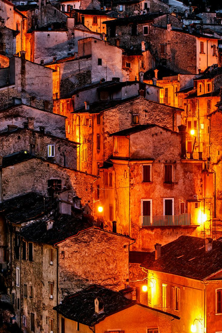 Houses in Scanno, Abruzzo, Italy | by Massimo Stazzeri on 500px