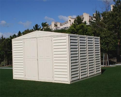 #DuramaxVinylStorageSheds are constructed with the highest quality materials. Visit http://www.shedtownusa.com/duramax-vinyl-storage-sheds-c-3.html  to choose from our variety of quality Duramax Vinyl storage sheds.