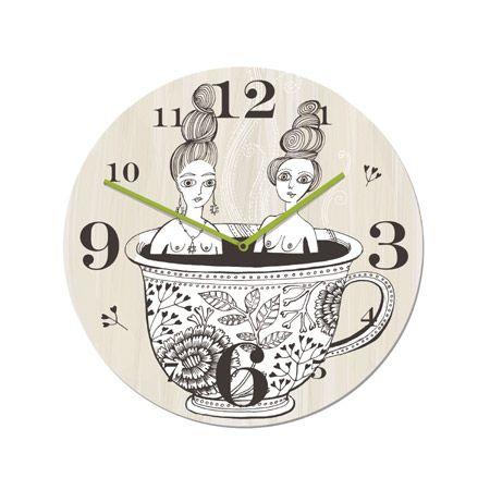 Teacup Ladies Clock  Lush Designs | Greenwich, London