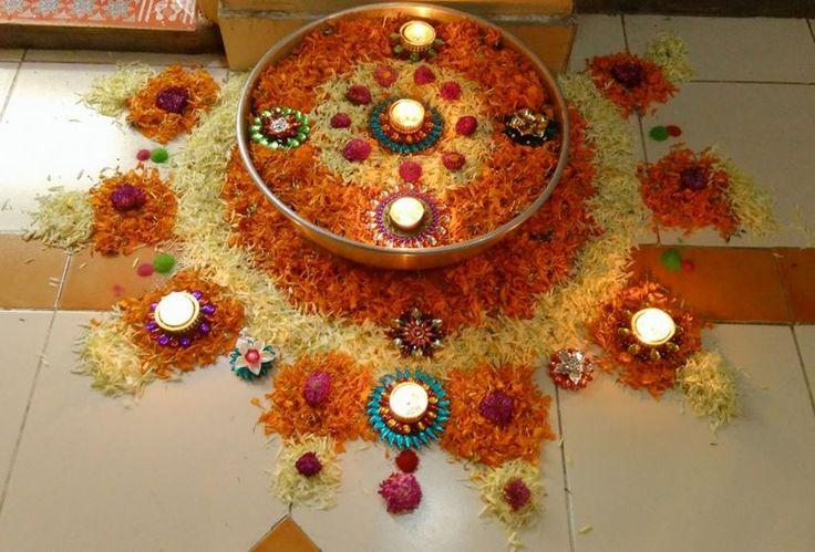 Pookalam Designs for Diwali