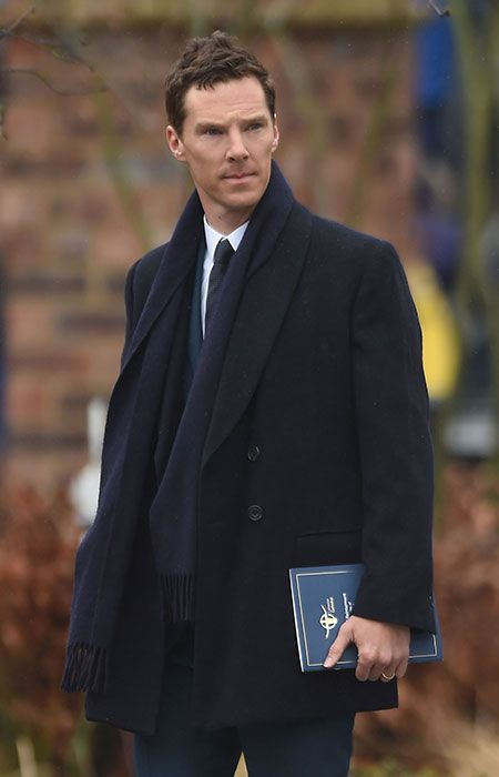 Benedict attends the reburial of King Richard III at Leicester Cathedral. Ben read a poem especially written for the late ruler. Trivia: Ben is King Richard III's cousin 16 times removed!