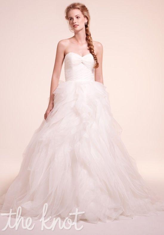 Alita Graham (Sweetheart Ball Gown in Lace, sweetheart neckline w/ a basque waist in organza & chapel train) $1500-3000