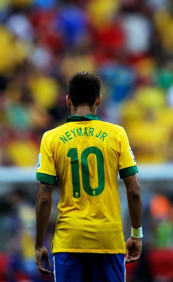 Just like Neymar, Philip's soccer jersey is number 10.