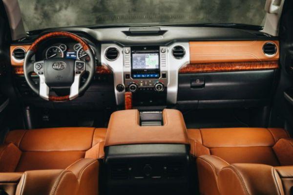 2016 toyota tundra platinum interior   2016 toyota tundra, toyota