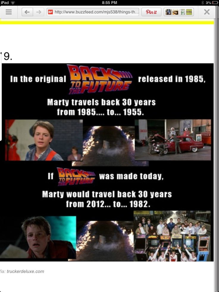 This made me feel so old that I wanted to cry