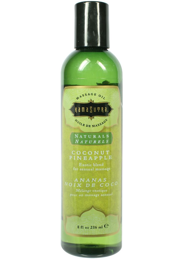 Buy Kama Sutra Naturals Massage Oil Coconut Pineapple 8 Ounces online cheap. SALE! $16.99