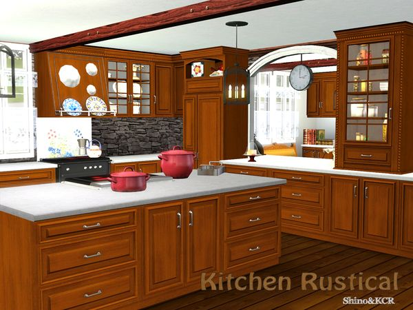 Kitchen Rustical by ShinoKCR - Sims 3 Downloads CC Caboodle