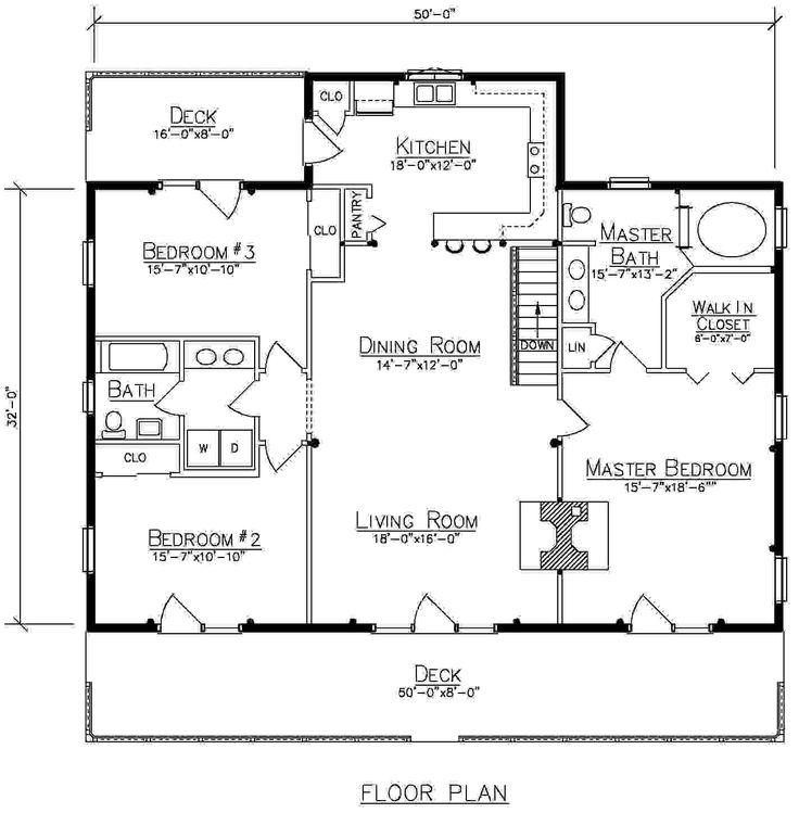 103 best Ward Cedar Log Home Plans images on Pinterest   Floor ...