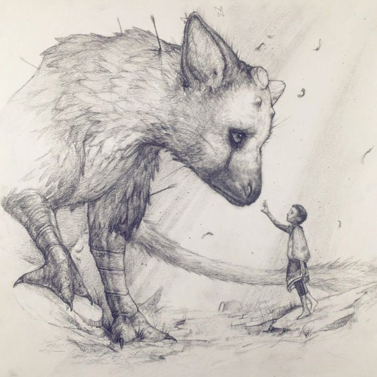 Apprehension - The Last Guardian Fanart by Tvonn9 on @DeviantArt