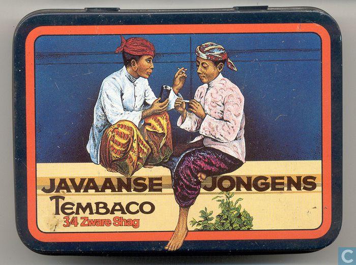 Blikken en trommels - Niemeyer tabak - Javaanse Jongens