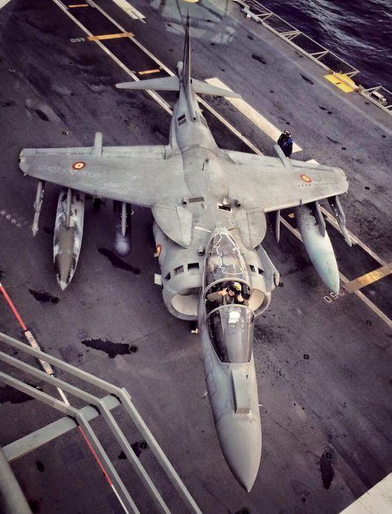 Wings in the sky AV-8B PLUS DE LA ARMADA ESPAÑOLA