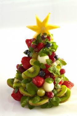 Hvordan lage spiselig fruktjuletre - frukt.no