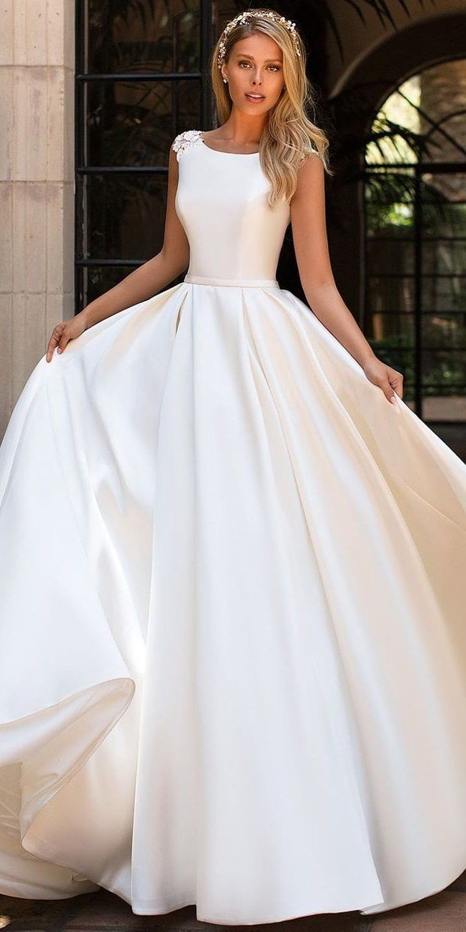 Top 45 Lace Wedding Dresses For 2021 Wedding Dresses Short Lace Wedding Dress Ball Gown Wedding Dress [ 1304 x 652 Pixel ]
