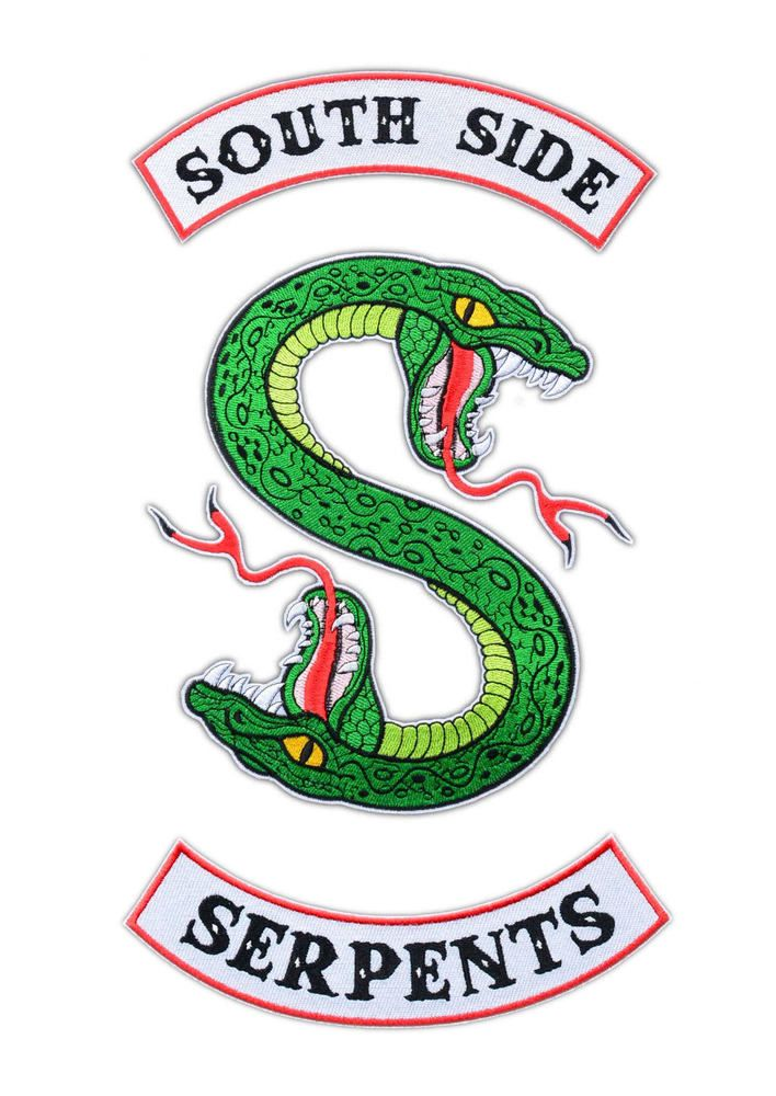 Riverdale Wallpaper Quotes Details About Riverdale Southside Serpents Embroidered