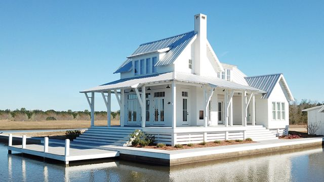 Loblolly Cottage Sl 2002 By Lake And Land Studio For Southern Living Artfoodhome Com Modern Farmhouse Plans Beach House Plans Cottage Plan