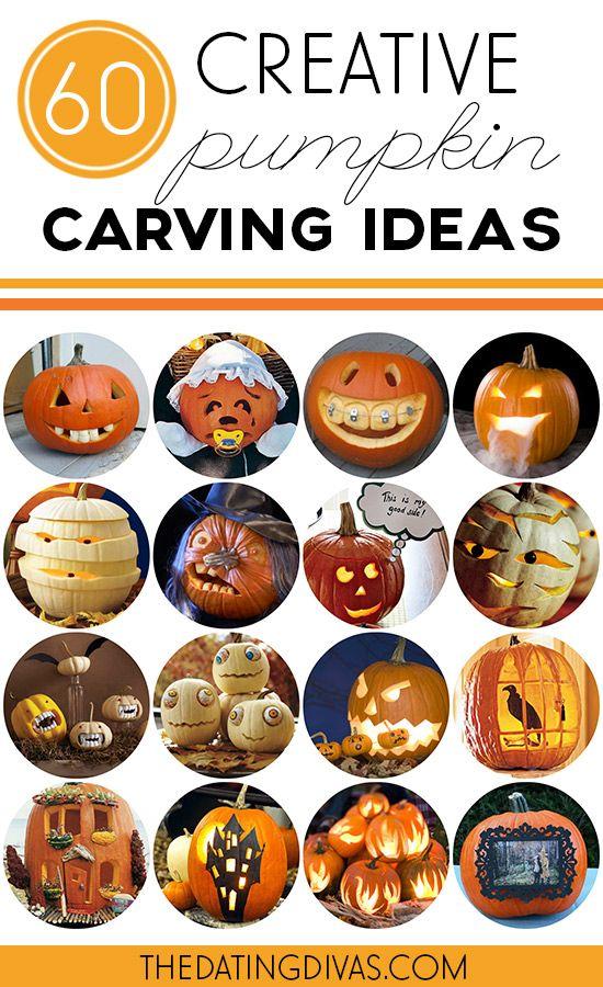 60 Creative Pumpkin Carving Ideas