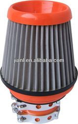 Key words: Hepa air filter, heat shield filter, open top filter, flat top long filter, flat top long filter, foam mushroom air filter, flat top slim filter, translucent heat shield filter, open top filter, superflow filter, mesh top filtersstainless mesh air filter, foam mushroom air filter, rubber top air filter, air cleaner element, air cleaner kit, breather, cone breather with different colors and sizes.