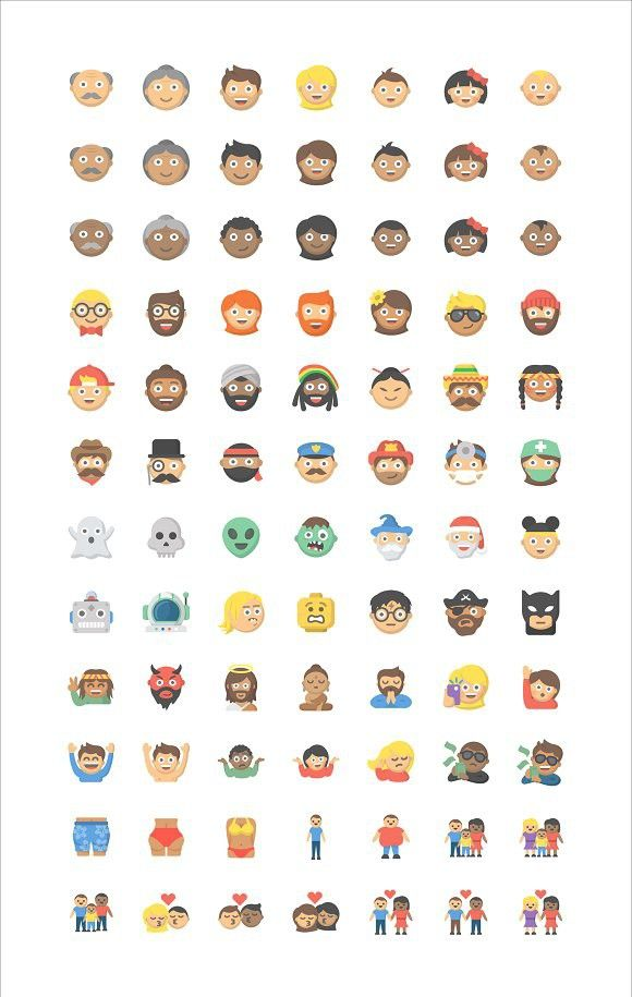 People Emoji 84 Vector Icons Icon Vector Icons Face Icon