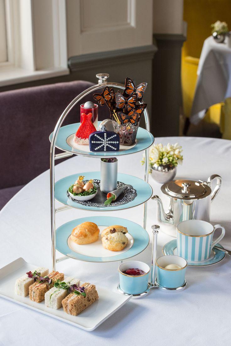 Afternoon tea review: Alexander McQueen tea at The Town House restaurant, Kensington Hotel