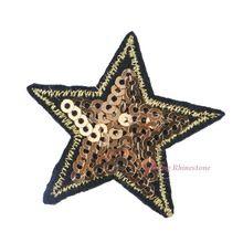 1 Unid Estrella Parche de Tela Apliques Bordados Coser Parches Ropa Lentejuelas Jeans Vestido de Prendas de vestir Accesorios de BRICOLAJE(China (Mainland))