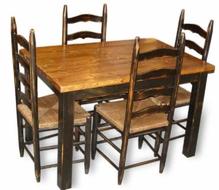 Kitchen Table And Chair Sets Primitive