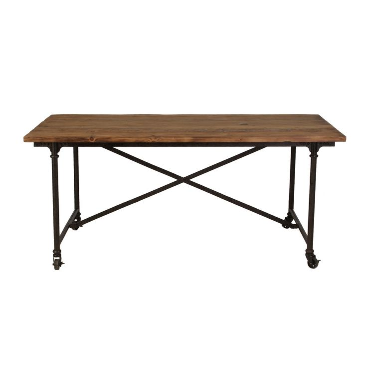Anchorage Industrial Dining Table Industrial Pinterest