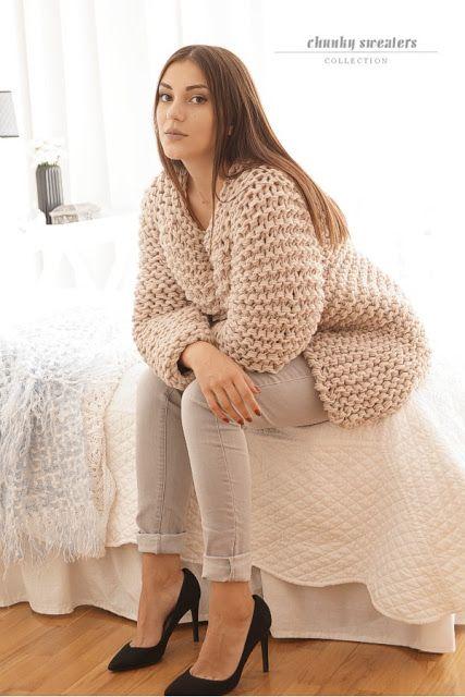 MonDu .robótkowanie.: ...chunky sweaters...