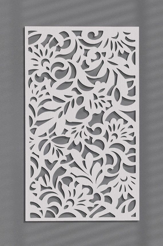 3d Stylish Wood Wall Art Decor Flowers Openwork Wall Decor Ornament Picture Living Room Wooden Wall Panel Home Decorornament Wood Wall Art Decor Wall Art Decor Elegant Wall Art