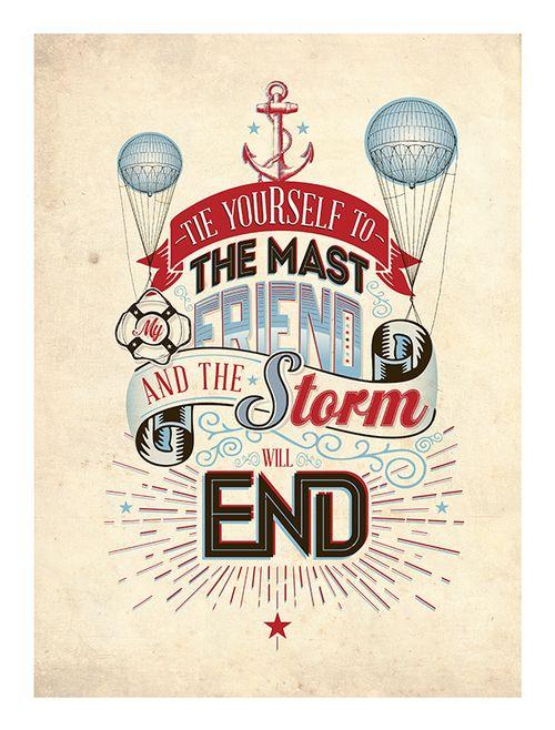 Typography Poster By Luke Shropshire