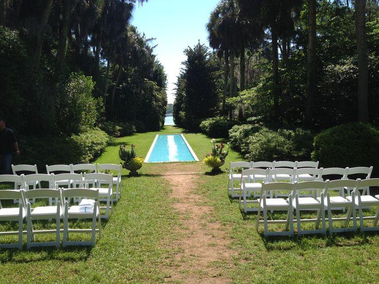 42 best tallahassee wedding ceremonies images on pinterest for Garden pool wedding