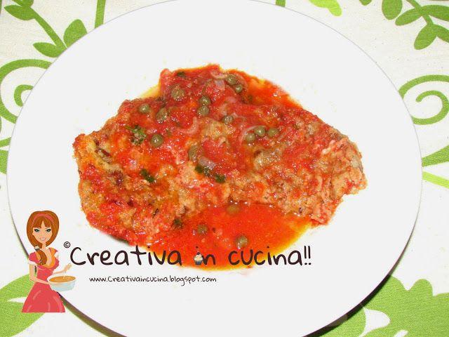 Scaloppine alla milanese. Ricetta per i più golosi! Ma facilissima da preparare! Ecco la ricetta >> http://creativaincucina.blogspot.it/2015/05/scaloppine-alla-milanese.html Escalope Milanese. Recipe for the sweet tooth! But easy to prepare! Here is the recipe >> http://creativaincucina.blogspot.it/2015/05/scaloppine-alla-milanese.html