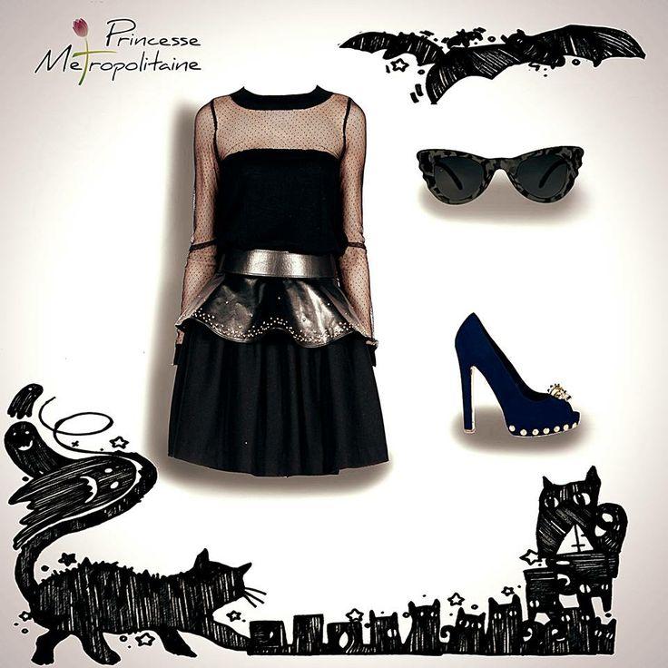 trick or treat? Le feste di Halloween sono alle porte....le domande possono essere tante, ma una sopra a tutte: cosa posso mettere per essere elegante, ironica e sexy allo stesso tempo?  Pillole di stile da Princesse Metropolitaine....date un occhio....e prendete spunto! #halloween #fashion