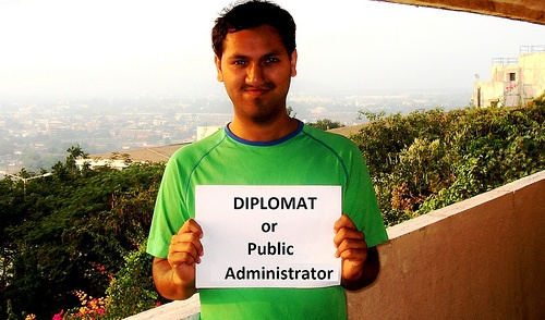 Saket would be a diplomat if he had the right skills. What would you be? #YouthSkillsWork