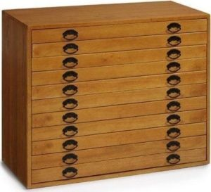 flat bed file drawers $275