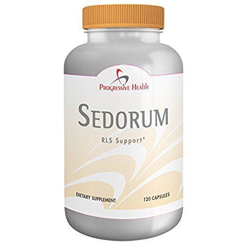 Sedorum: Restless Leg Syndrome Relief Supplement (RLS). P...