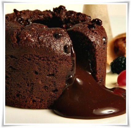 Hoy vamos a enseñarles nuestra riquisima receta volcan de chocolate, una receta que se puede acompañ