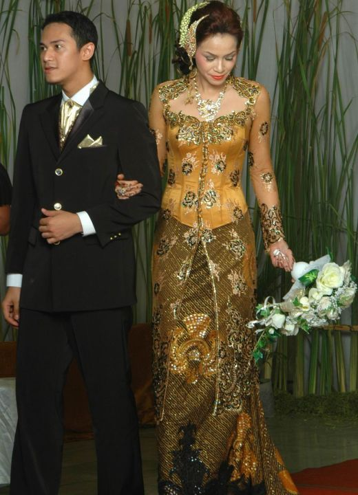 More simple design of Wedding Kebaya