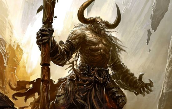 Minotaur is the well known creature that is half bull and ...