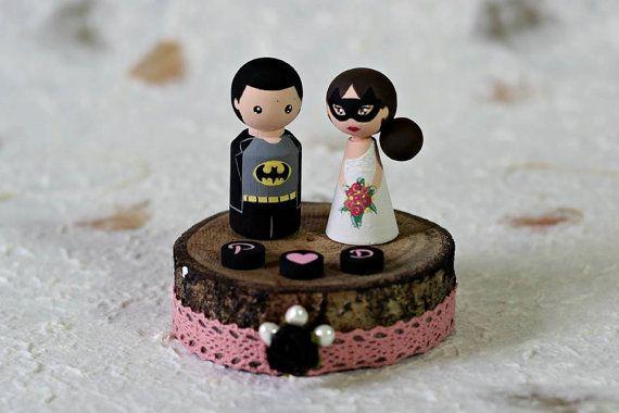 Cake topper Batman - ils ont la classe | ArtwenShop on Etsy