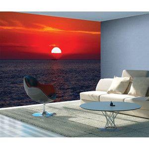 Veľkoformátová tapeta Sunset, 315x232cm