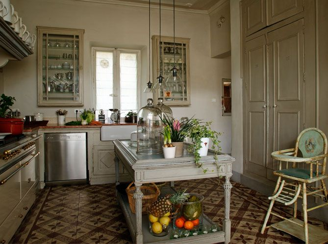...I will have a kitchen of gray and white, and only natural light.