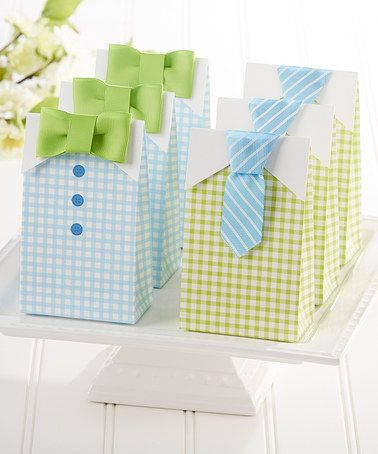 Loving this Green & Blue 'My Little Man' Candy Bag - Set of 24 on #zulily! #zulilyfinds