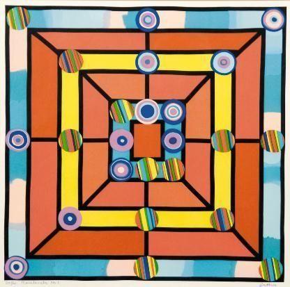 Walter Battiss (1906 - 1982) | Abstract Art | Marabaraba No. 1