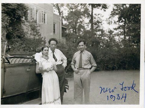 New York 1934 Diego y Frida